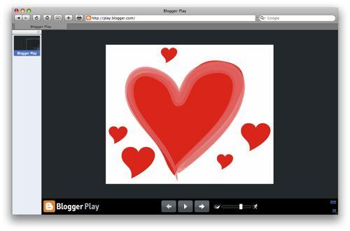 Blogger play