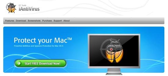 Mac用無料アンチウイルスソフト「iAntiVirus」
